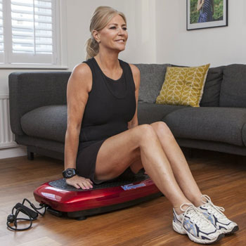 Vibrapower Slim 2 Home Fitness Vibration Plate