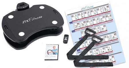 JTX SLIM-FIT Vibration Plate