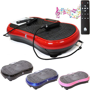Gym Master 2700W Crazy Fit Vibration Massage Plate